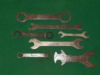 CLASSIC DOUGLAS TOOLKIT SPANNERS